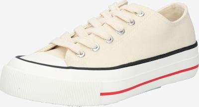 rubi Sneaker 'BILLIE' in kitt / melone / schwarz / weiß, Produktansicht