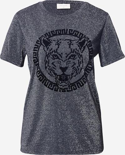 Freequent Shirt 'BLANCA' in grau / schwarz, Produktansicht