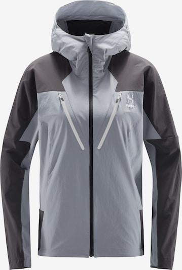 Haglöfs Outdoorjas 'Tegus' in de kleur Antraciet / Zwart, Productweergave