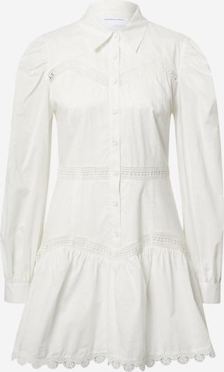 Designers Remix Robe-chemise 'Sandra' en crème, Vue avec produit