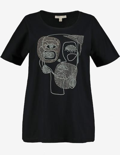 Ulla Popken Shirt in grau / schwarz, Produktansicht