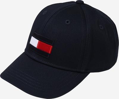 TOMMY HILFIGER Cap in navy / feuerrot / weiß, Produktansicht