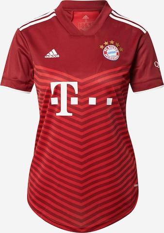 ADIDAS PERFORMANCE Spordisärk 'FC Bayern München Away 2021/2022', värv punane