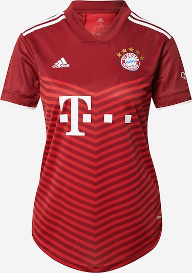 ADIDAS PERFORMANCE Tricot 'FC Bayern München Away 2021/2022' in de kleur Rood / Lichtrood / Wit, Productweergave