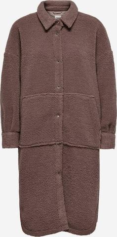 ONLY Fleece Jacket in Brown