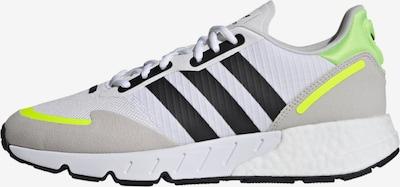 ADIDAS ORIGINALS Sneaker in neongelb / hellgrau / schwarz / weiß, Produktansicht