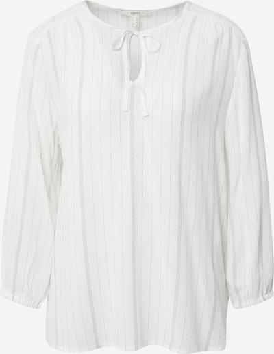ESPRIT Bluse in grau / offwhite, Produktansicht
