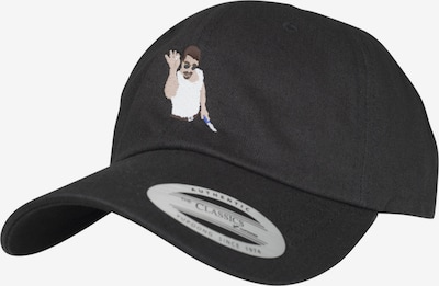 Mister Tee Cap in creme / braun / schwarz / weiß, Produktansicht