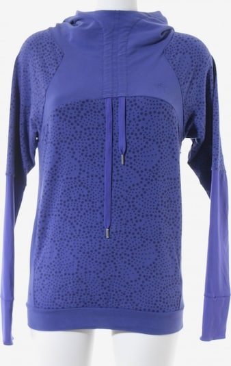 ASICS Kapuzensweatshirt in S in violettblau / schwarz, Produktansicht