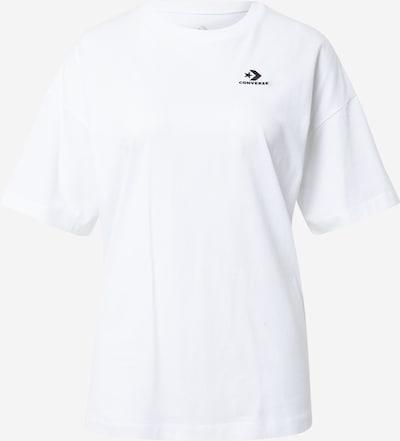 CONVERSE Shirt in de kleur Zwart / Wit, Productweergave