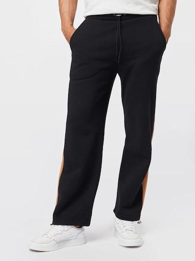 NU-IN Nohavice - svetlobéžová / čierna, Model/-ka