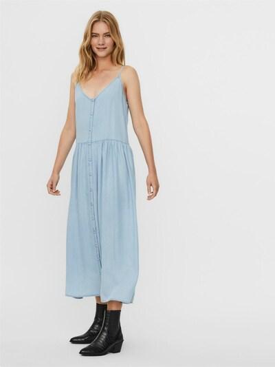 VERO MODA Kleid in hellblau, Modelansicht