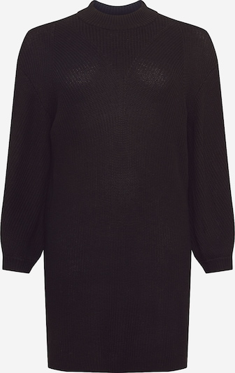 Noisy May Curve Robes en maille en noir, Vue avec produit