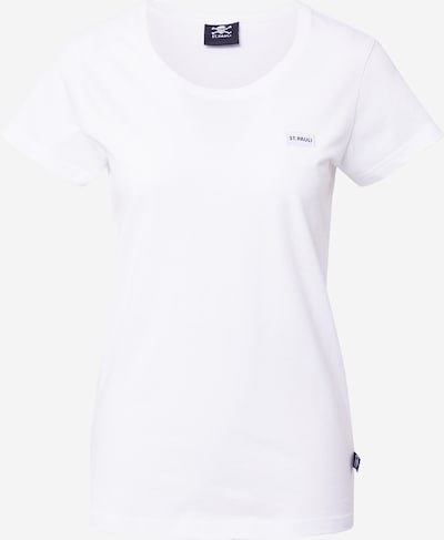 FC St. Pauli T-shirt en blanc, Vue avec produit