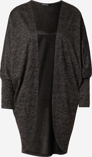 Sublevel Strickjacke 'DOB' in schwarz, Produktansicht