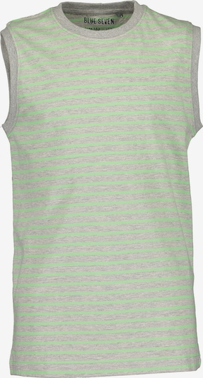BLUE SEVEN Top in graumeliert / hellgrün, Produktansicht