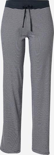 ESPRIT Pantalon de pyjama 'JORDYN' en bleu marine / blanc, Vue avec produit