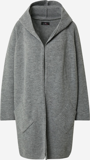 Zwillingsherz Knit cardigan 'Annabell' in grey: Frontal view