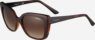 VOGUE Eyewear Lunettes de soleil '0VO5337S' en marron / cognac, Vue avec produit