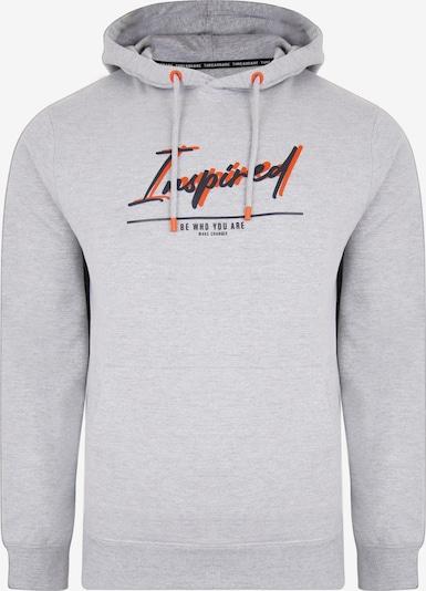 Threadbare Sweat-shirt en gris / rouge sang / noir, Vue avec produit