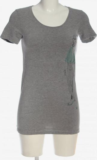 MAMALICIOUS T-Shirt in S in hellgrau / khaki / rot, Produktansicht