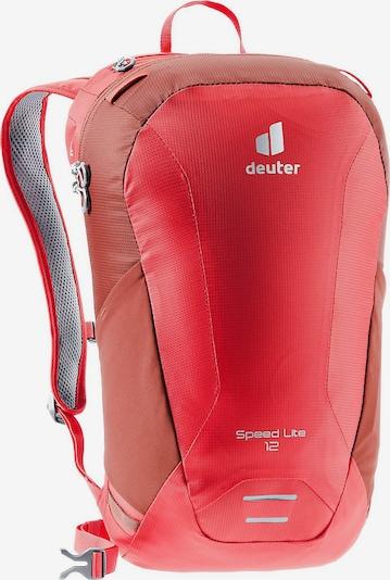 DEUTER Rucksack in rot: Frontalansicht