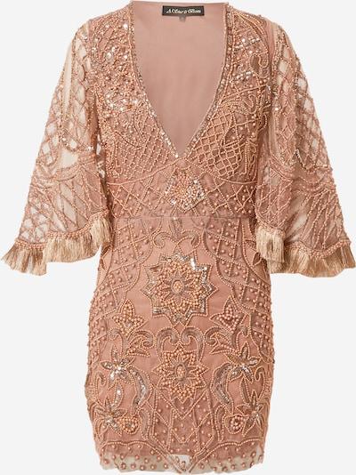 A STAR IS BORN Kleid in kupfer / rosegold / altrosa, Produktansicht