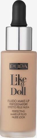PUPA Milano Fluid Foundation 'Like a Doll' in Beige
