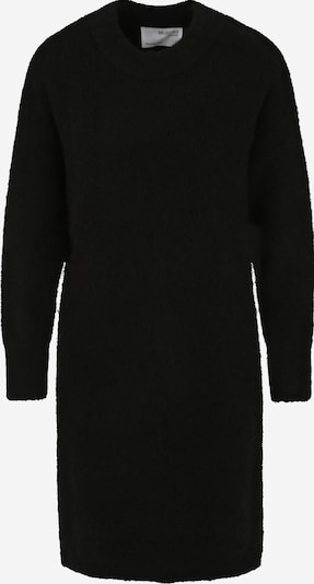 Selected Femme Petite Knitted dress 'KHLOE' in Black, Item view