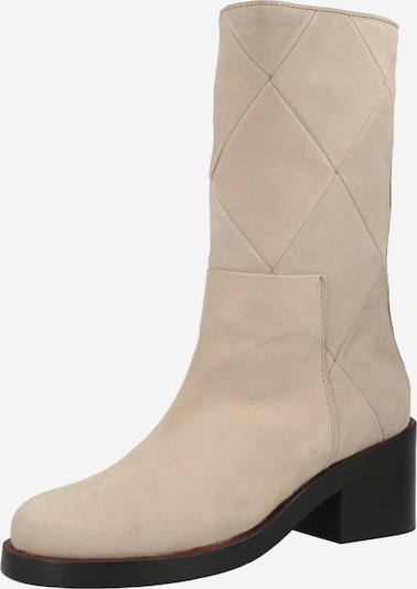 SHABBIES AMSTERDAM Ankle Boots in Cream, Item view