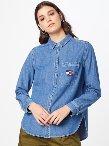 Chemisier Tommy Jeans en bleu