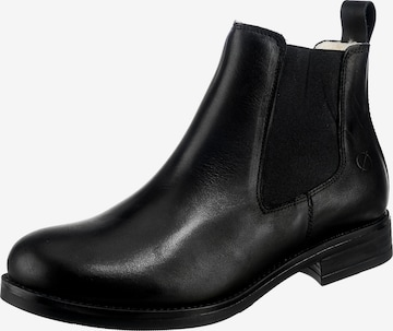 Paul Vesterbro Chelsea Boots in Schwarz