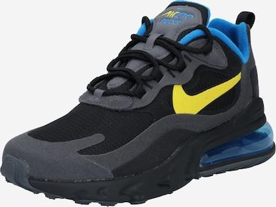 Nike Sportswear Sneaker low ' Air Max 270 React' i blå / gul / sort: Frontvisning