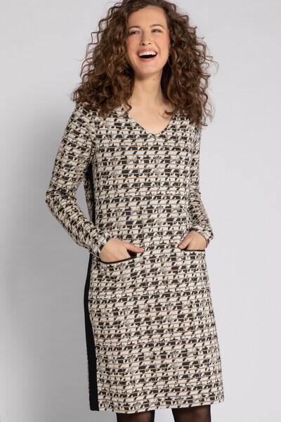 Gina Laura Kleid in grau, Modelansicht