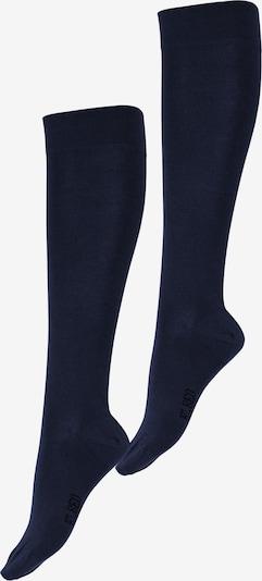 ELBEO Chaussettes montantes ' 2er-Pack Fresh Komfort ' en bleu nuit, Vue avec produit