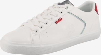 LEVI'S Sneaker 'Woodward 2.0' in hellblau / grau / rot / weiß, Produktansicht