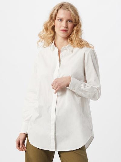 modström Blouse 'Arthur' in de kleur Wit, Modelweergave