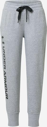 UNDER ARMOUR Sportske hlače 'Rival' u siva / crna, Pregled proizvoda
