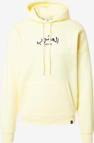 VIERVIER Μπλούζα φούτερ 'Marlo' σε κίτρινο