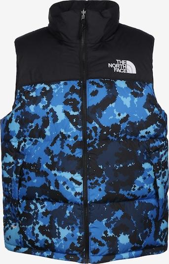 THE NORTH FACE Weste 'Retro Nupse' in blau / schwarz, Produktansicht