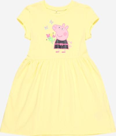NAME IT Sukienka 'PEPPAPIG' w kolorze żółty / zielony / jasnoróżowy / czarnym, Podgląd produktu