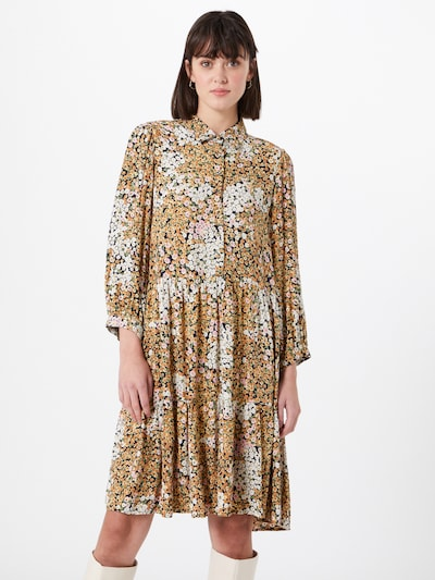 Y.A.S Kleid in braun / mischfarben, Modelansicht