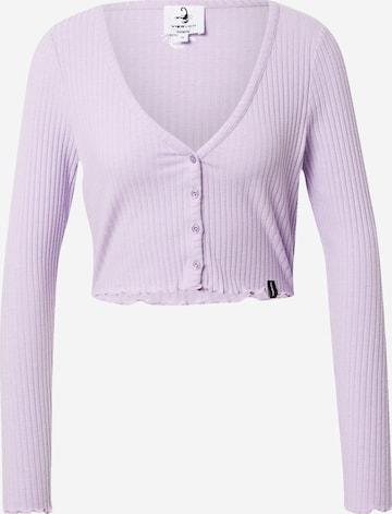 VIERVIER Shirt 'Rosalie' in Lila