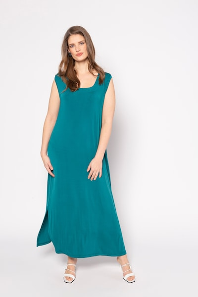 Ulla Popken Kleid in petrol, Modelansicht