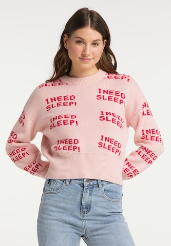 MYMO Sweater in Pink