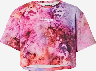 PARI Shirt 'SPORTS CLUB' in Purple / Berry / Orange red, Item view