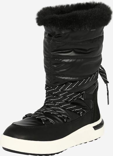 GEOX Snow boots 'DALYLA' in Black / White, Item view