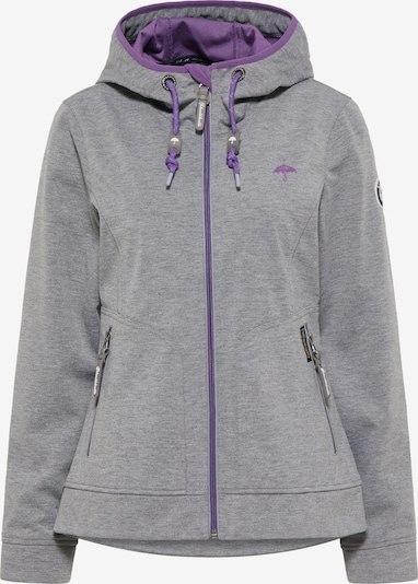 Schmuddelwedda Performance Jacket in Grey / Purple, Item view