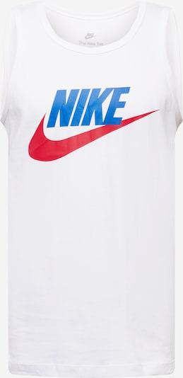 Nike Sportswear Majica u plava / crvena / bijela, Pregled proizvoda