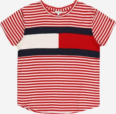 TOMMY HILFIGER Koszulka w kolorze czerwony / czarny / białym, Podgląd produktu